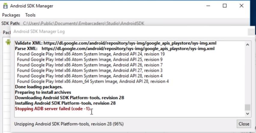 ฟรี Delphi Community การตั้งค่าสำหรับ Android สำหรับเชื่อมต่อมือถือ
