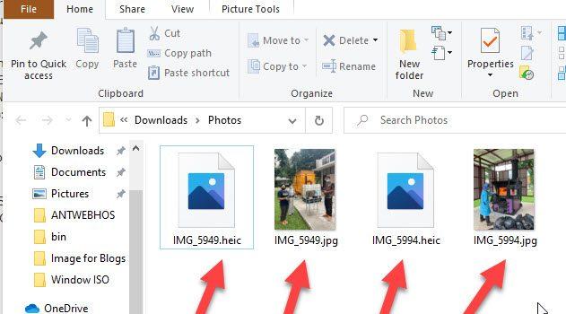 [Window Tip] มีวิธี Converter HEIC ไป JPG มาฝาก รูปบน Google Photos ไฟล์นามสกุล HEIC แล้วนะ iPhone เริ่มแล้ว Google Photo ตาม